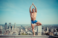 Blu Nathan - Blu Urban Yoga 5 Tree Pose