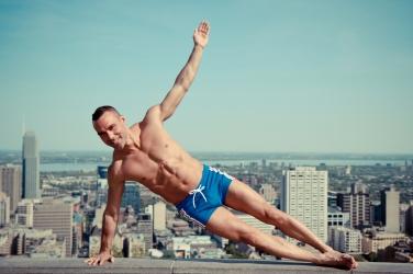 Blu Nathan - Blu Urban Yoga 6 Plank Pose