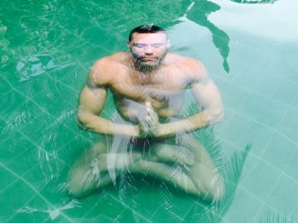 Blu Nathan - Infinite Asana Under Water