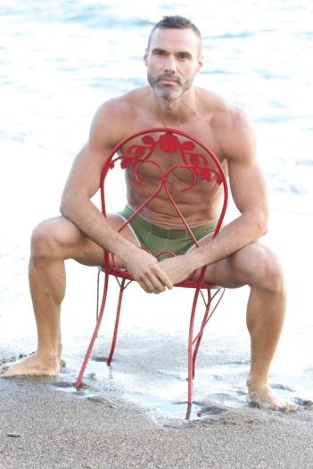 Blu Nathan - Sanskrit Vision Red Chair