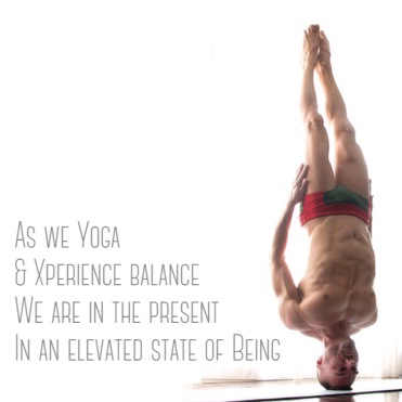 Blu Nathan #theyogaverb 15 - Free Headstand