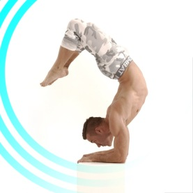 Blu Nathan White Warriors - Scorpion : Vrschikasana