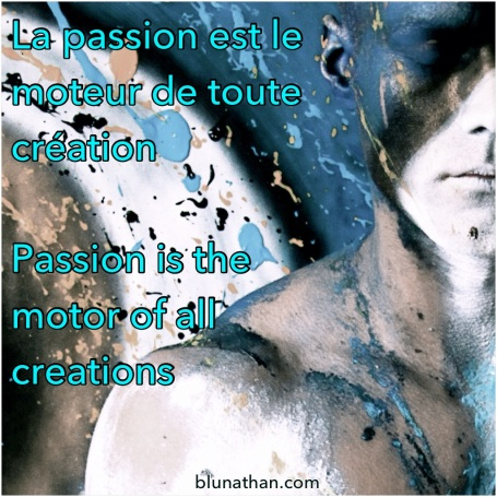 Blu nathan - Passion & Creation