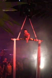 Blu Nathan Aerial Silks - District Mtl - Split