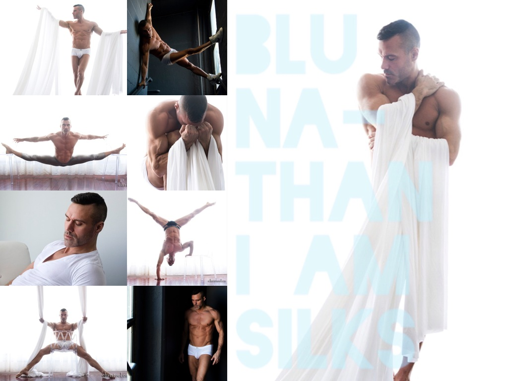 Blu Nathan - I Am Silks - Collage